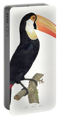 Toucan Portable Battery Charger by Jacques Barraband