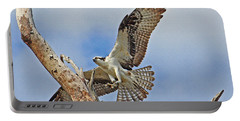 Touch Down - Osprey In Flight Portable Battery Charger
