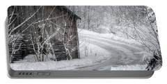 Touched By Snow Portable Battery Charger