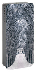Towards The Lonely Path Of Winter Portable Battery Charger