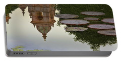 Portable Battery Charger featuring the photograph Tower In Lotus Position by Gary Holmes