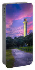 Tower In Sulfur Springs Portable Battery Charger by Marvin Spates