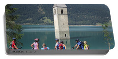 Tower In The Lake Portable Battery Charger