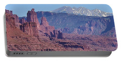 Towering Rockformations Portable Battery Charger by Bruce Bley