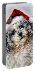 Toy Poodle- Animal- Christmas Portable Battery Charger