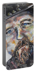 Trace Adkins..country Singer Portable Battery Charger by Chrisann Ellis