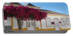 Traditional House Of Tavira. Portugal Portable Battery Charger