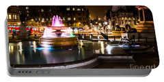 Portable Battery Charger featuring the photograph Trafalgar Square by Matt Malloy