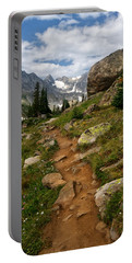 Trail To Lake Isabelle Portable Battery Charger by Ronda Kimbrow