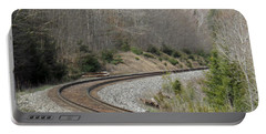 Train It Coming Around The Bend Portable Battery Charger