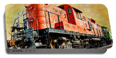 Train - Mkt 142 - Rs3m Emd Repowered Alco Portable Battery Charger