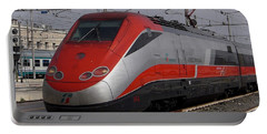 Train Out Of Rome Portable Battery Charger