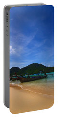 Tranquil Beach Portable Battery Charger