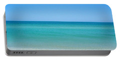 Portable Battery Charger featuring the photograph Tranquil Gulf Pond by David Nicholls