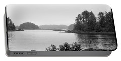 Portable Battery Charger featuring the photograph Tranquil Harbor by Victoria Harrington