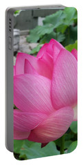 Tranquil Lotus  Portable Battery Charger