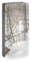 Tranquil Winters Creek Portable Battery Charger