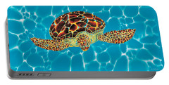 Caribbean Sea Turtle Portable Battery Charger