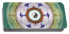 Tranquility Mandala Portable Battery Charger