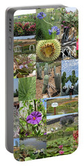 Portable Battery Charger featuring the photograph Traveling Baby Pandas At The Plant Nursery. California. by Ausra Huntington nee Paulauskaite