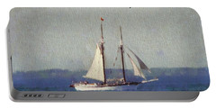 Traverse City Postcard Portable Battery Charger