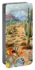 Treasures Of The Desert Portable Battery Charger by Marilyn Smith
