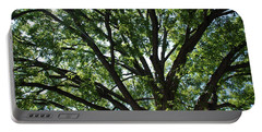 Tree Canopy Sunburst Portable Battery Charger