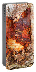 Tree Closeup - Wood Texture Portable Battery Charger