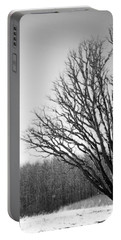 Tree In Winter 2 Portable Battery Charger