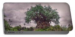 Tree Of Life Portable Battery Charger by Hanny Heim