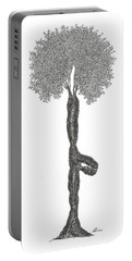 Tree Pose Portable Battery Charger