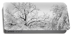 Tree Snow Portable Battery Charger