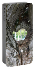 Portable Battery Charger featuring the photograph Tree View by Rafael Salazar