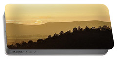 Portable Battery Charger featuring the photograph Treeline by AJ  Schibig