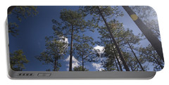 Portable Battery Charger featuring the photograph Trees And Nature by Charles Beeler