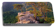Trees On A Mountain, Buzzards Roost Portable Battery Charger by Panoramic Images