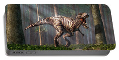 Trex In The Forest Portable Battery Charger