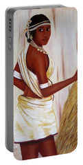 Tribal Girl Portable Battery Charger
