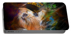 Tribute To Canine Veterans Portable Battery Charger