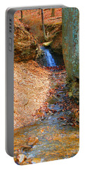 Trickling Waterfall By Shellhammer Portable Battery Charger