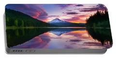 Trillium Lake Sunrise Portable Battery Charger