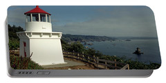 Portable Battery Charger featuring the photograph Trinidad Light by Sharon Elliott