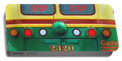 Trolley Car - Digital Art Portable Battery Charger