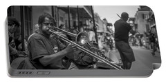 Trombone In New Orleans 2 Portable Battery Charger