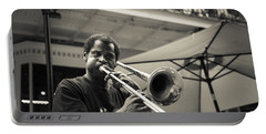 Trombone In New Orleans Portable Battery Charger