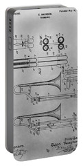 Trombone Patent Drawing Portable Battery Charger