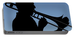 Trombone Player Portable Battery Charger