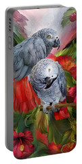 Tropic Spirits - African Greys Portable Battery Charger