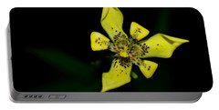 Portable Battery Charger featuring the photograph Tropic Yellow by Miguel Winterpacht