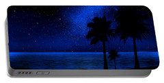 Tropical Beach Wall Mural Portable Battery Charger
